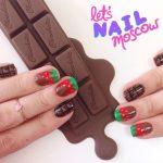 Nail Art Cioccolato