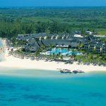 Veduta dall'alto di uno dei bellissimi hotel presenti sull'isola