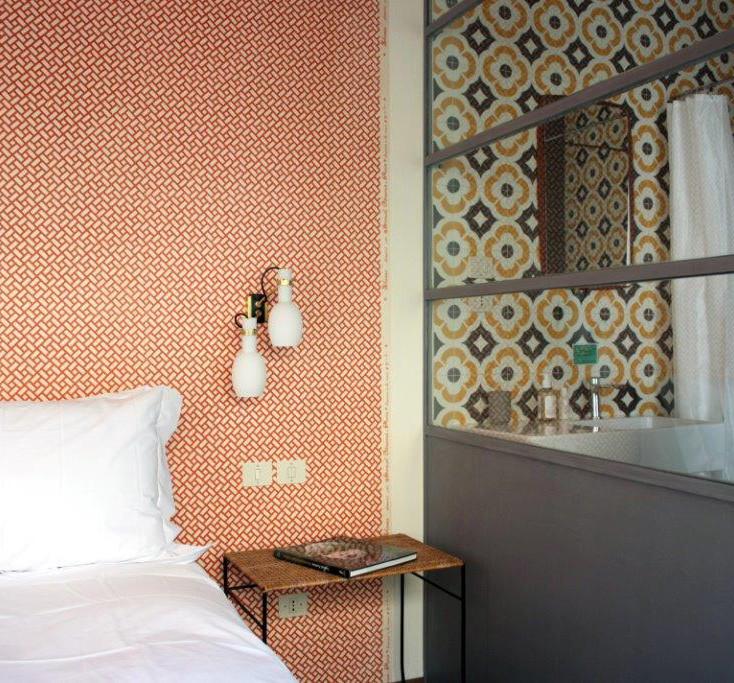 Una delle stanze del LaFavia, La Palmera