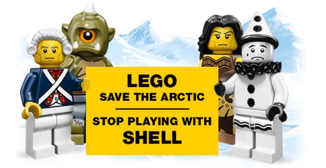 Greenpeace lancia una campagna contro l'accordo tra Lego e Shell