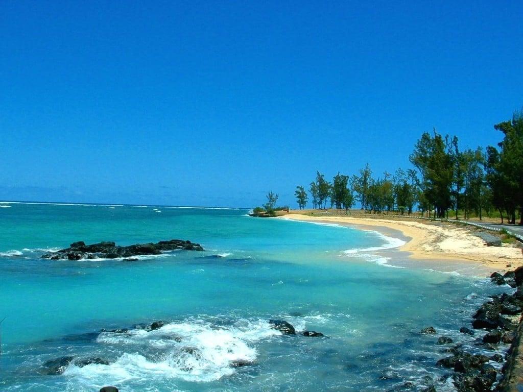 Uno splendido scorcio dell'isola