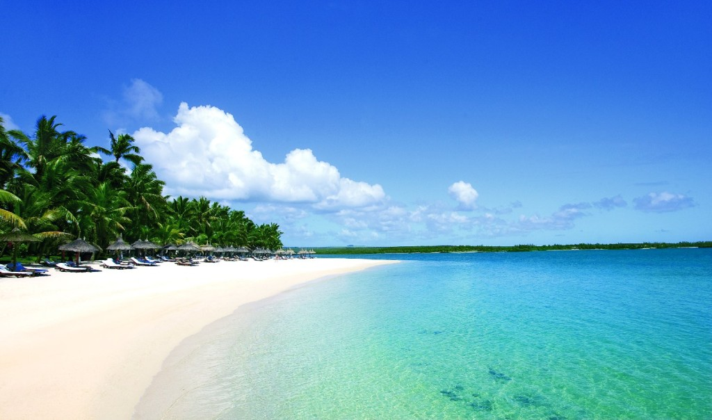Le spiagge bianchissime sono una delle bellezze più indimenticabili