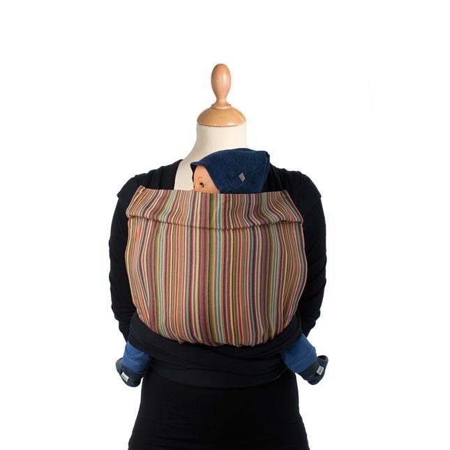 Mei Tai BB Tai - Ananas rigato con mutandina interna per neonati. Dalla nascita fino ai 17 kg. A 89 Euro su tabata.shop