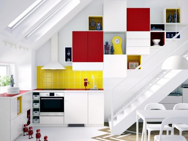 Sul mercato esistono numerose soluzioni pratiche e convenienti come le cucine componibili Ikea