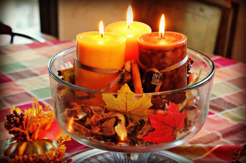 centrotavola per matrimonio autunno