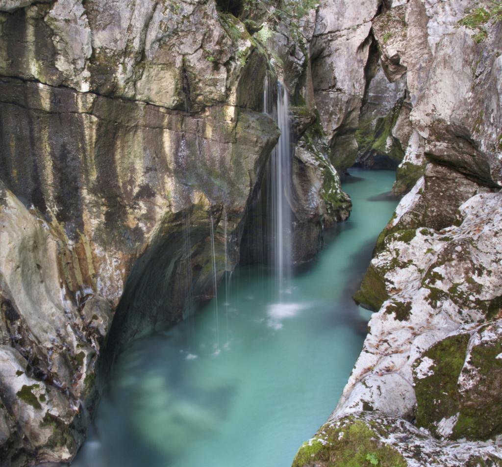 Canyon a Soca, Slovenia