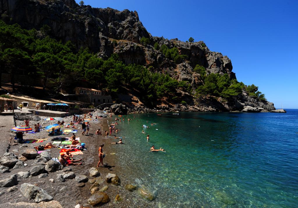 Una delle meravigliose spiagge di Palma