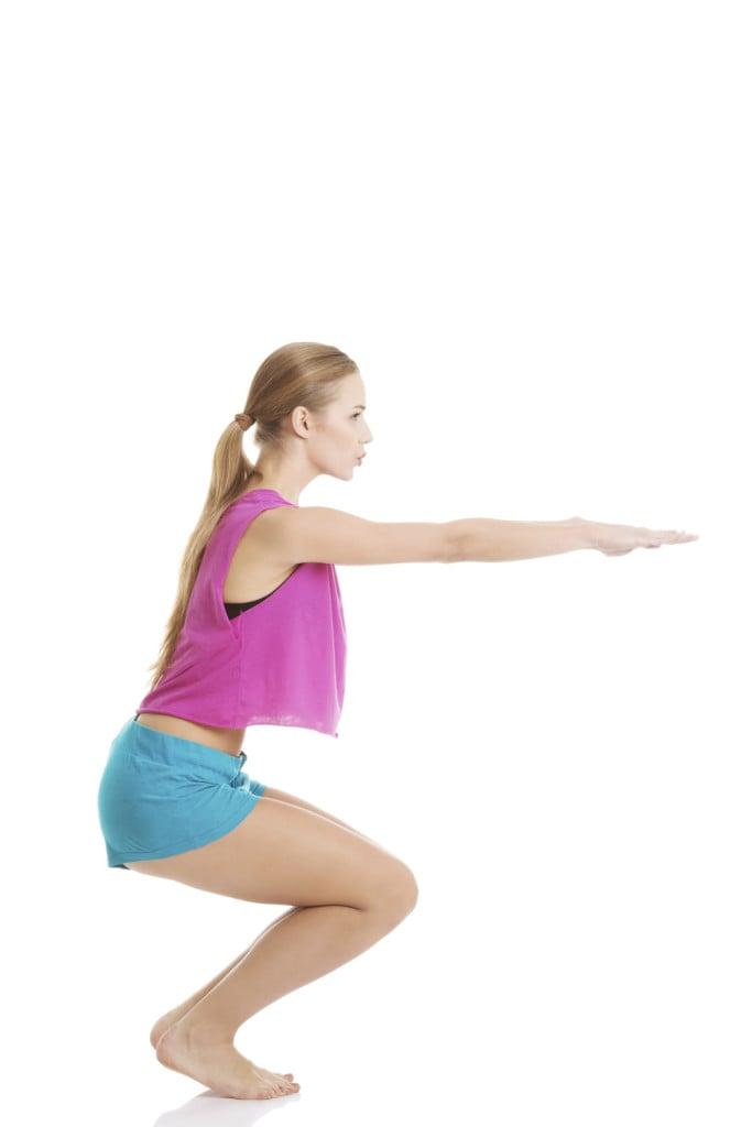 Squat posizione