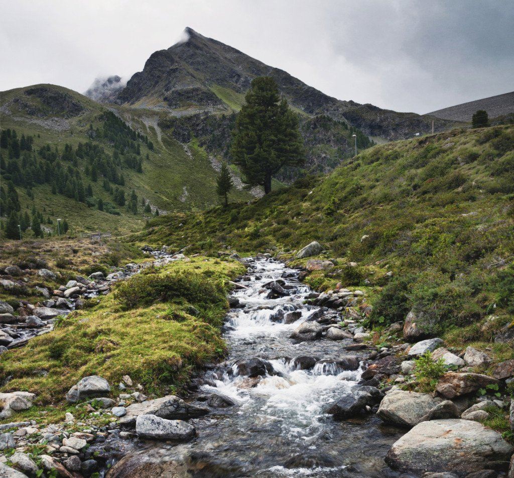 Montagne nella valle dello Stubai
