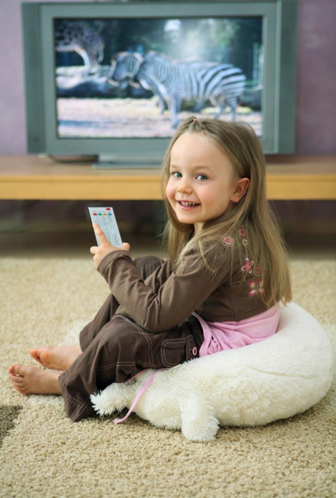 tv e bimbi