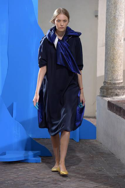Vestito blu notte
