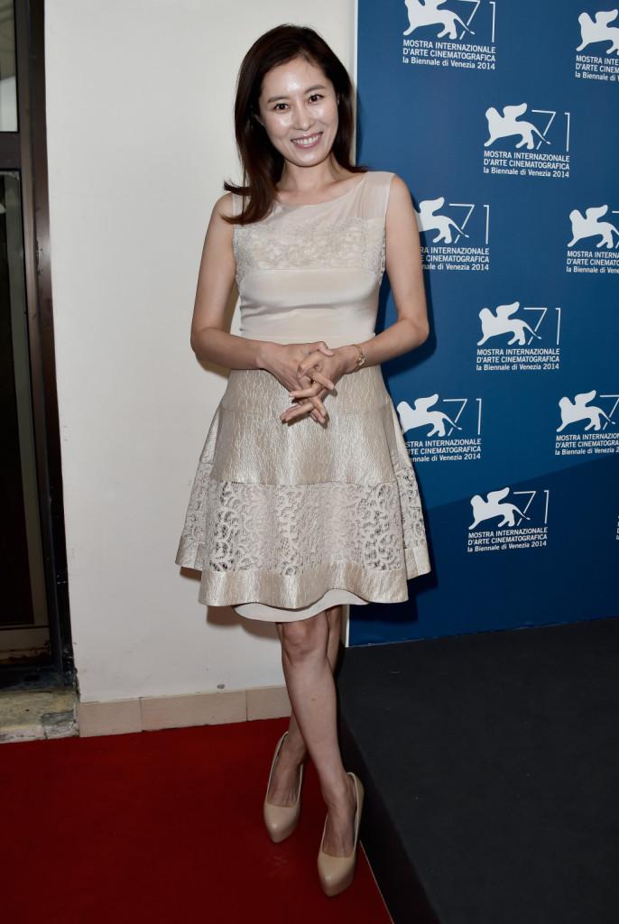 L'attrice Moon Sori (