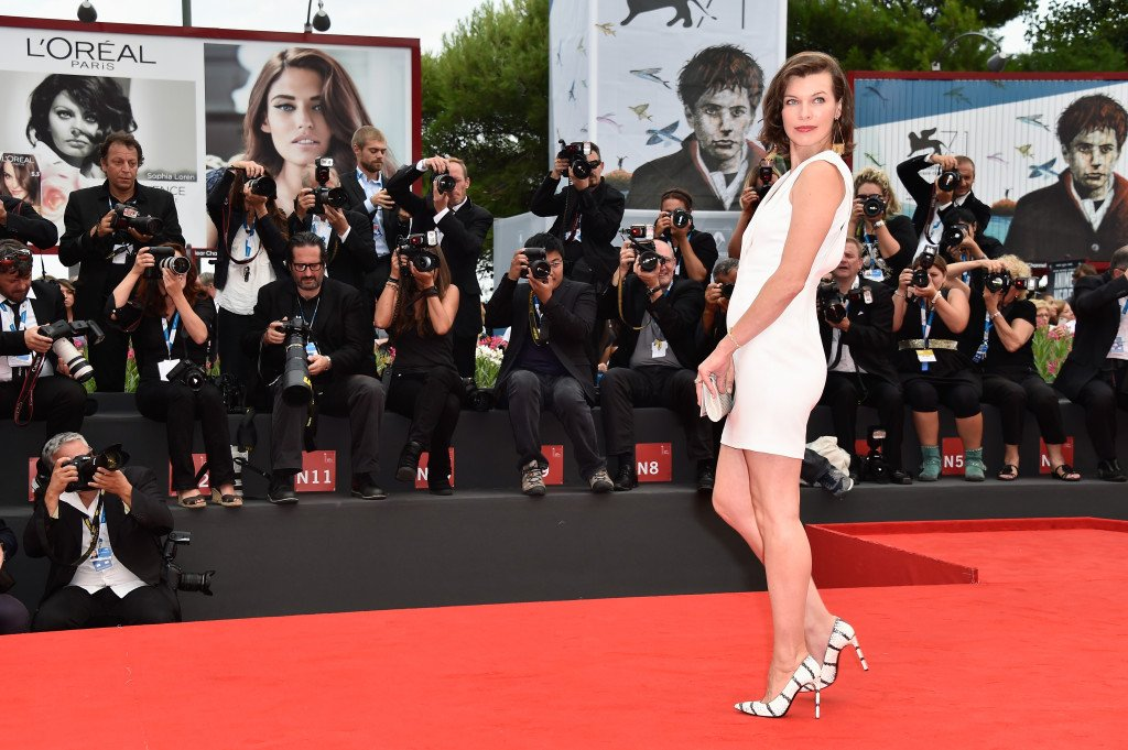La bellissima Milla Jovovich (