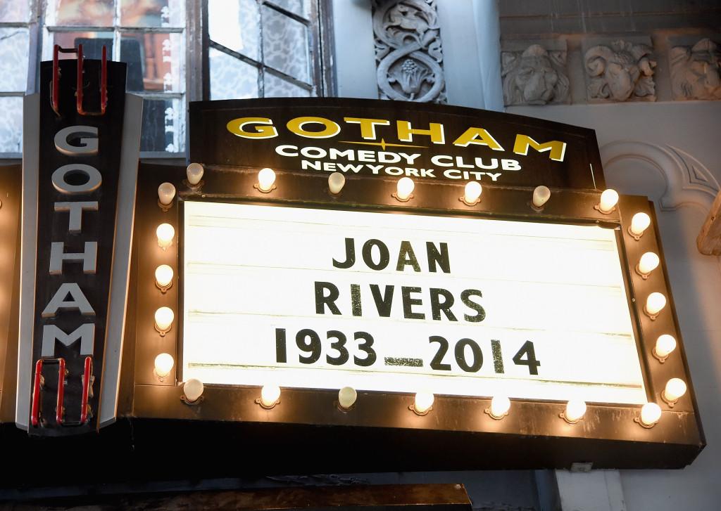 Il Gothan Comedy Club di New York rende omaggio all'attrice
