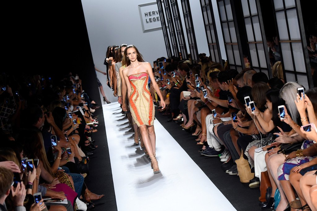 Herve Leger by Max Azria s/s 2015 NYFW