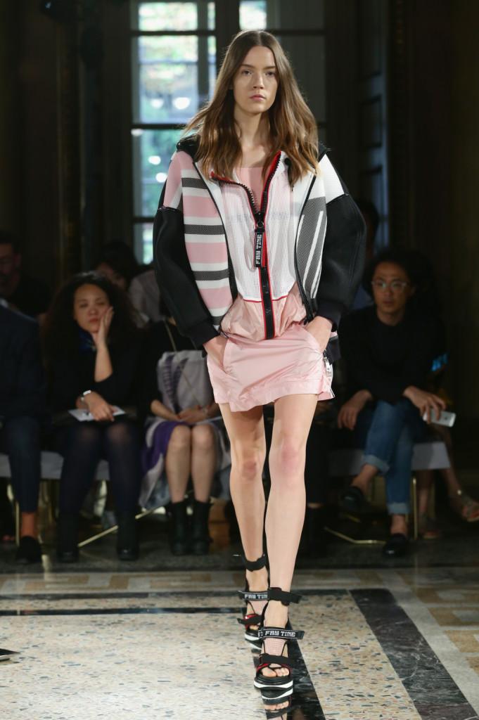 Sfilata Fay Milano Fashion Week 2014, sportwear urbano