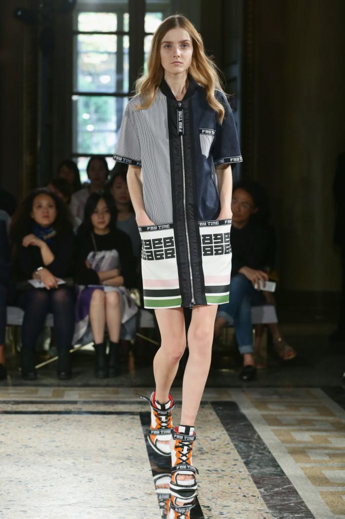 Milano Fashion Week Fay sfila con uno stile sportivo