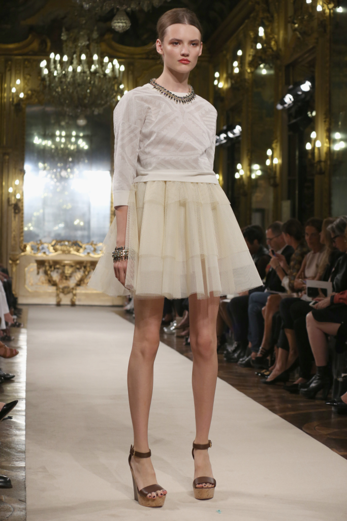 Gonna in tulle / Les Copains ss 2015