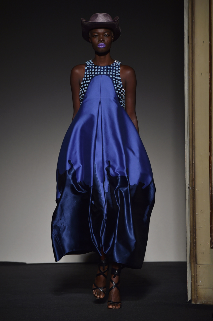 La struttura, il colore, la decorazione: la collezione in un abito / Grinko SS 2015