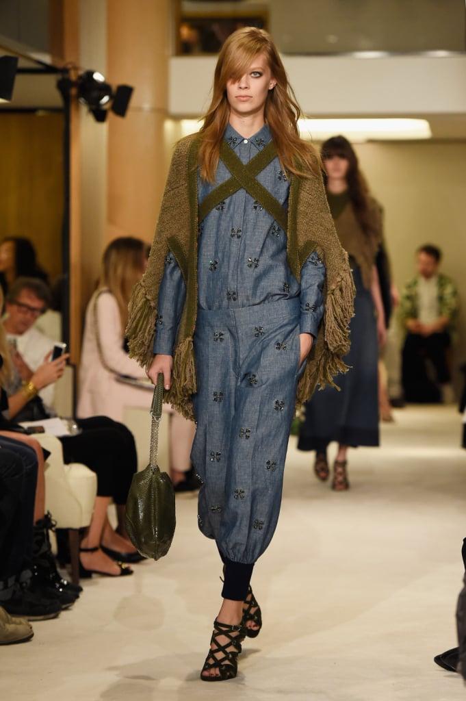 Confort misto a stile glamour e silhouette femminili per la nuova stagione 2015 Sonia Rykiel