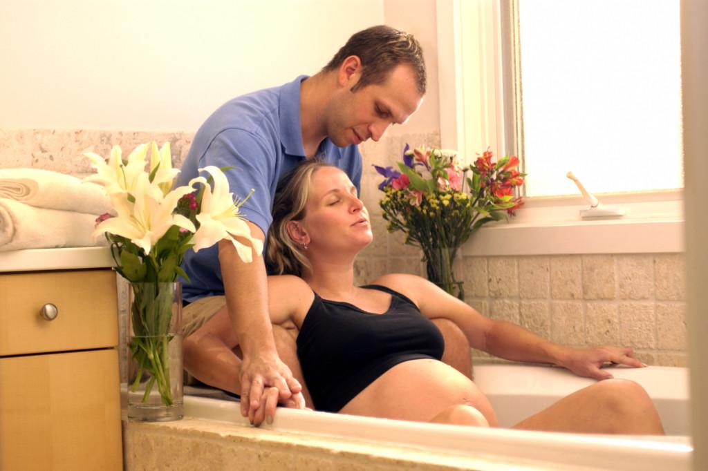 Bagno caldo, ottimo in gravidanza