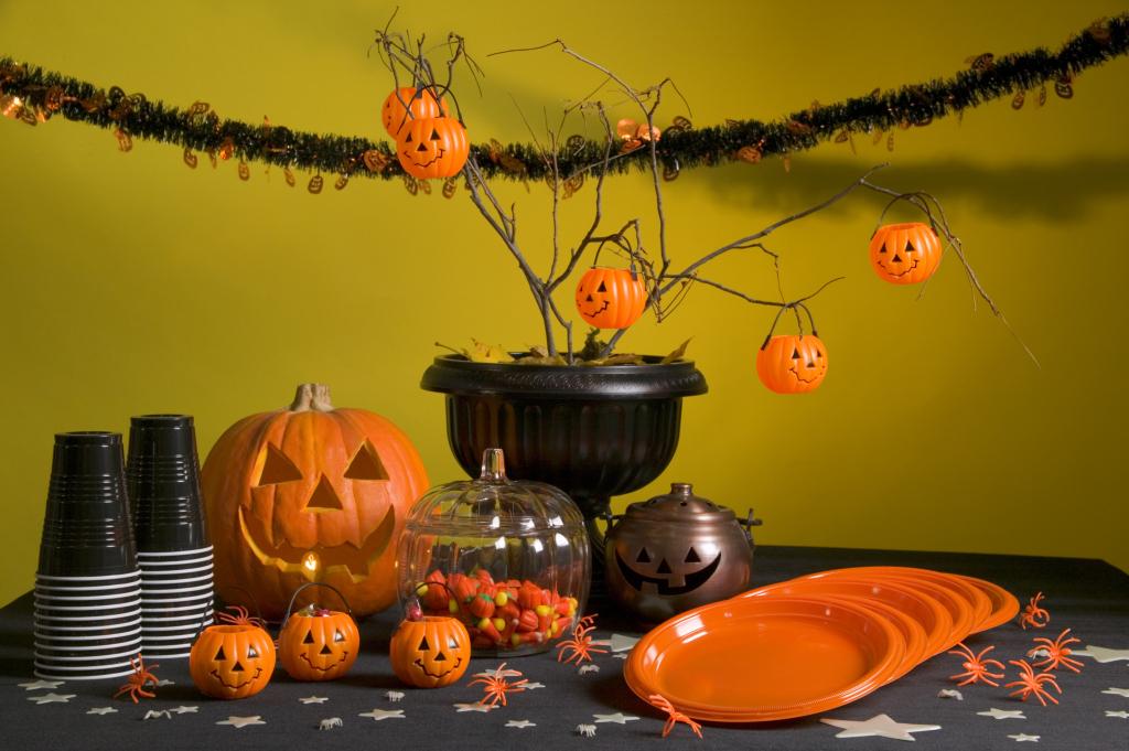 Decorazioni tavola per Halloween