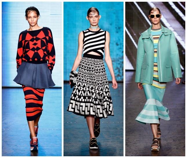 DKNY: la collezione primavera-estate 2015