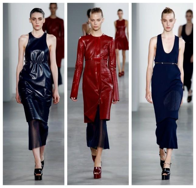 Calvin Klein propone per la PE 2015 una collezione all'insegna del