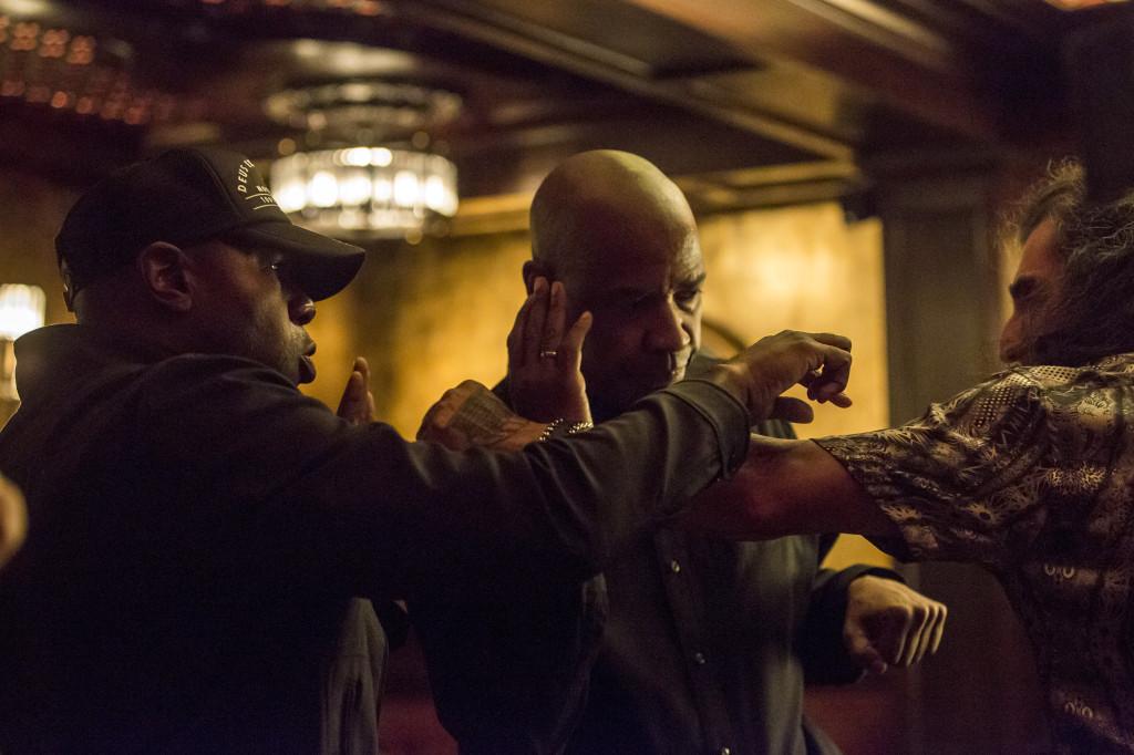 Denzel Washington in un film di Antoine Fuqua
