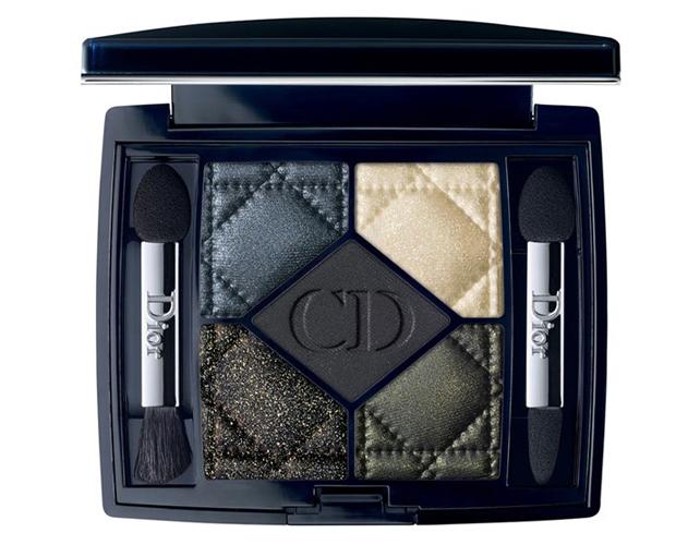 Palette Pied de Poule Dior con prevalenza di ombretti dalla tonalità scura