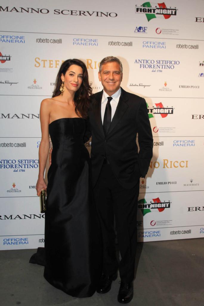 Fra gli ospiti più attesi George Clooney con la futura moglie Amal Alamuddin