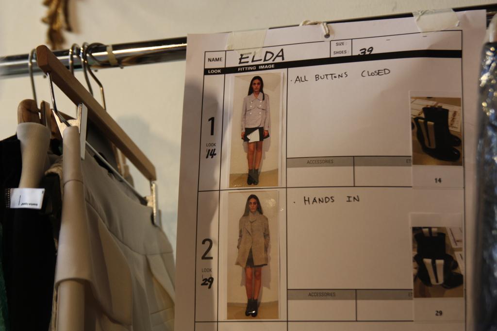 Backstage: A ogni modella il suo outfit - Photo Credits: Giada Divisato