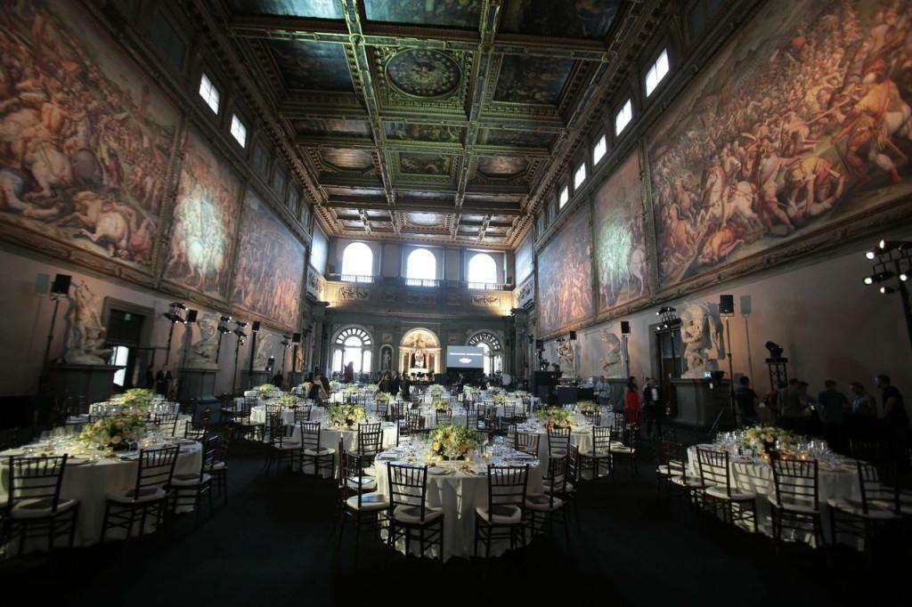 Palazzo dei Cinquecento a Firenze è stata la location del gala di beneficenza by Ermanno Scervino