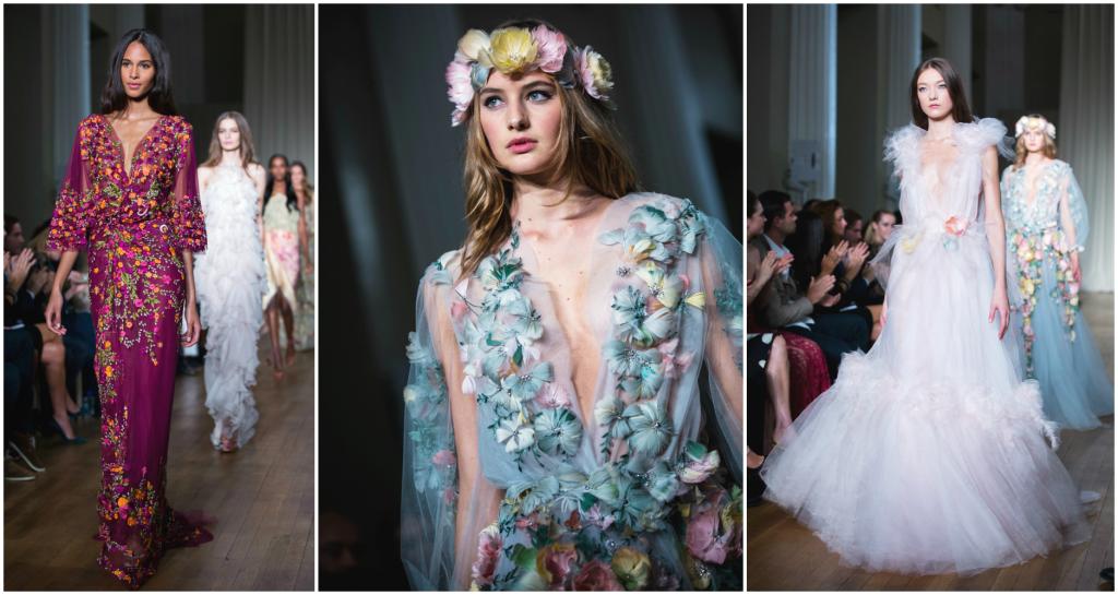 Bella ed eterea come una dea: la collezione primavera-estate 2015 di Marchesa