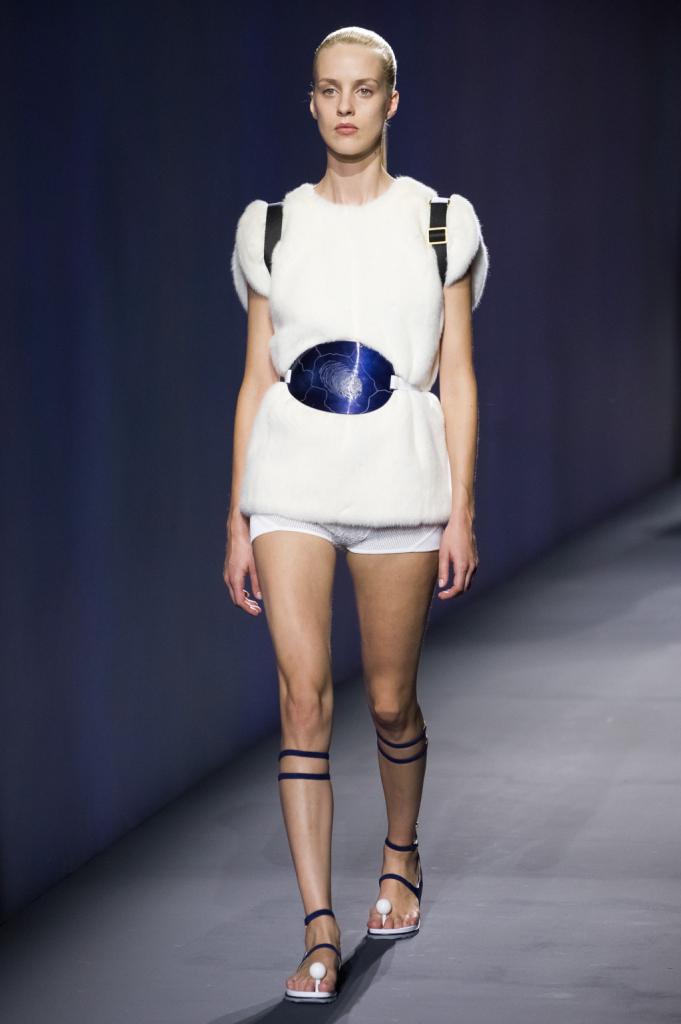 Vionnet, MFW, collezione Primavera-Estate 2015: culotte