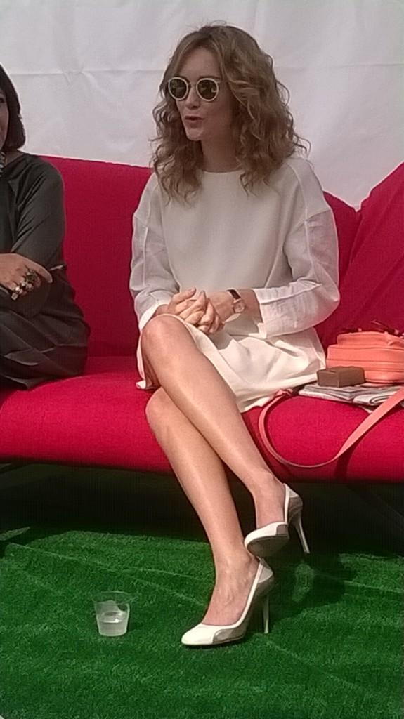 Cristiana Capotondi intervistata da Viviana Musumeci