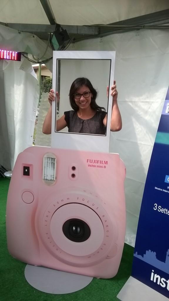 La nostra inviata, Mara Urriani, alla premiazione Instax di Fujifilm
