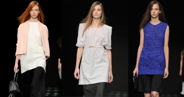 Chic ma casual è la sfilata Anteprima ss 2015 alla Milano Fashion Week