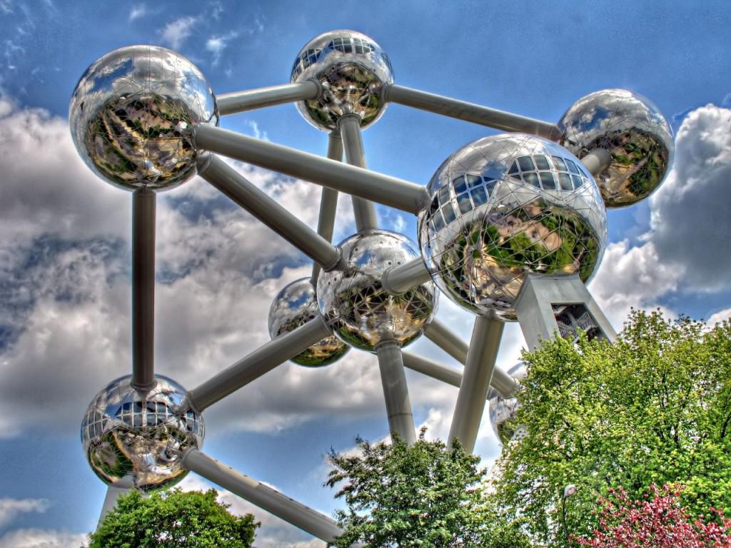 Atomium, l'edificio-simbolo dell'Expo di Bruxelles 1958