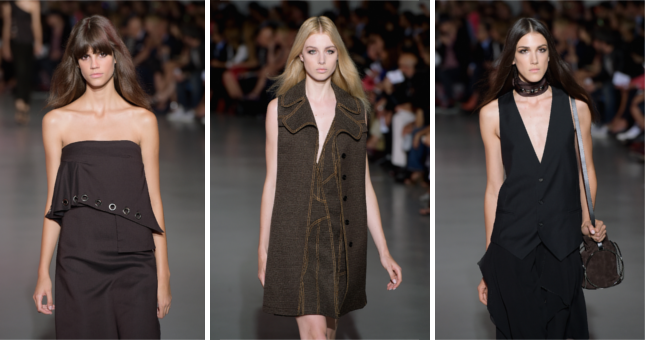 Rock e minimalismo per la collezione primavera-estate 2015 Costume National
