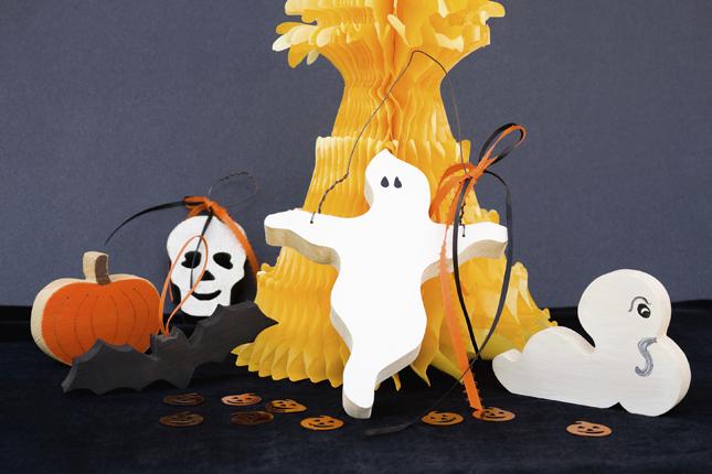 Decorazioni di legno Halloween