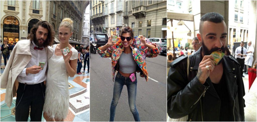 Lo streetstyle milanese incontra la carica delle Dietorelle per una coloratissima #svoltadipiacere