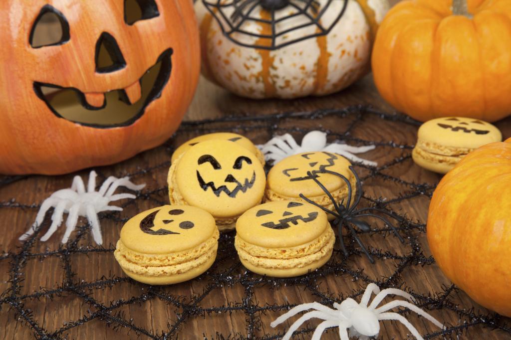 Macaroons di Halloween  891bda149a47