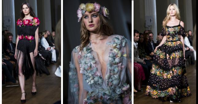 Marchesa: una collezione ss 2015 femminile e floreale