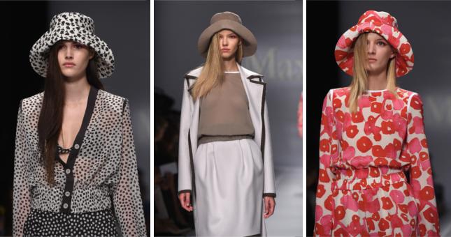 Garbata e sofisticata, la collezione Max Mara sfila alla ss 2015 Milano Fashion Week
