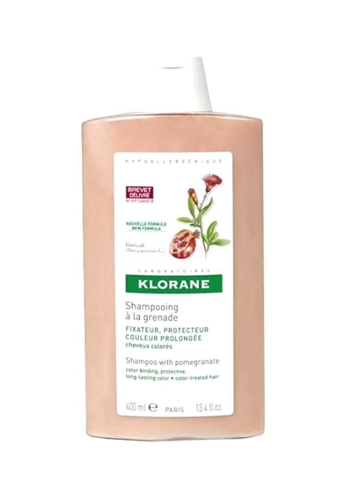 Shampoo Klorane per capelli colorati: nutre senza appesantire la chioma