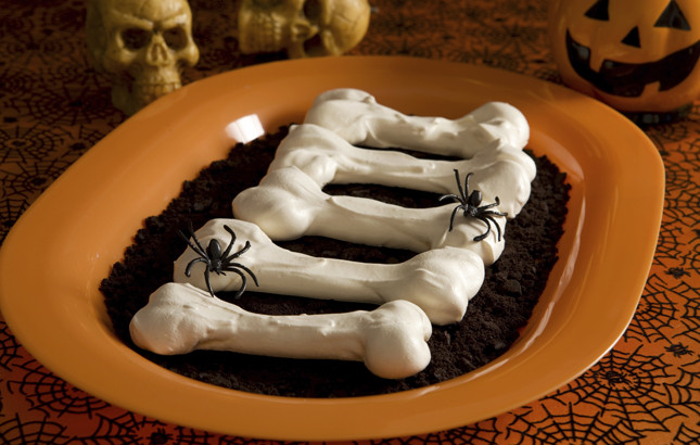 ossa dolci meringhe