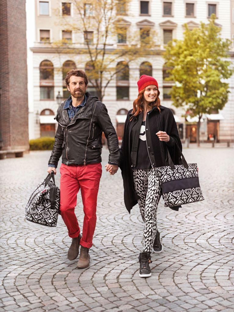 Look etnico e urban con le borse Reisenthel