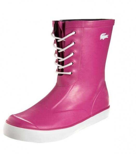Rain boot fucsia Lacoste