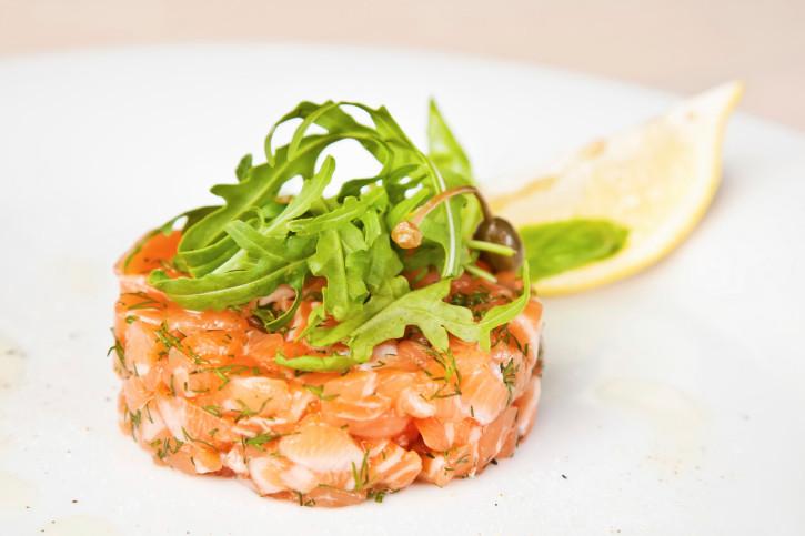 Ricetta Salmone Norvegese Affumicato.Tartare Di Salmone Unadonna